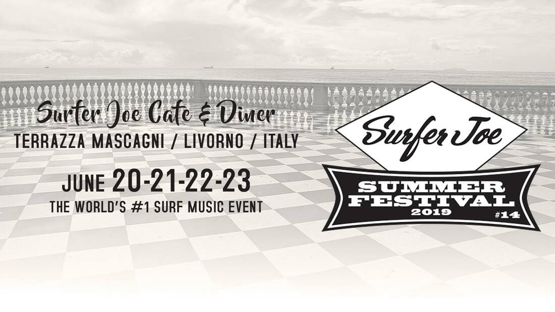 Par Avion To Surfer Joe Summer Festival Livorno It